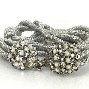 Porcupine Vintage Silver Rope Belt